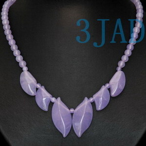 lavender Quartz Necklace