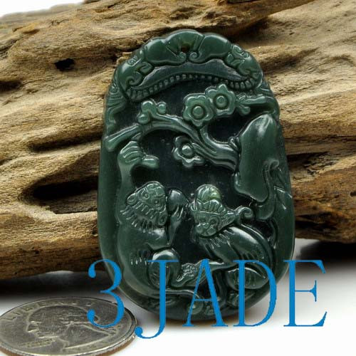 jade monkey necklace