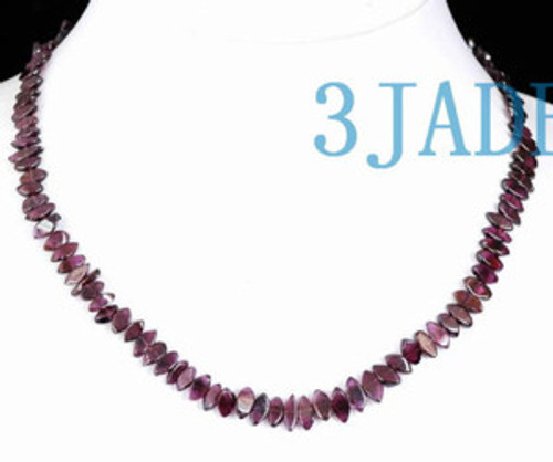 Garnet Beads Necklace