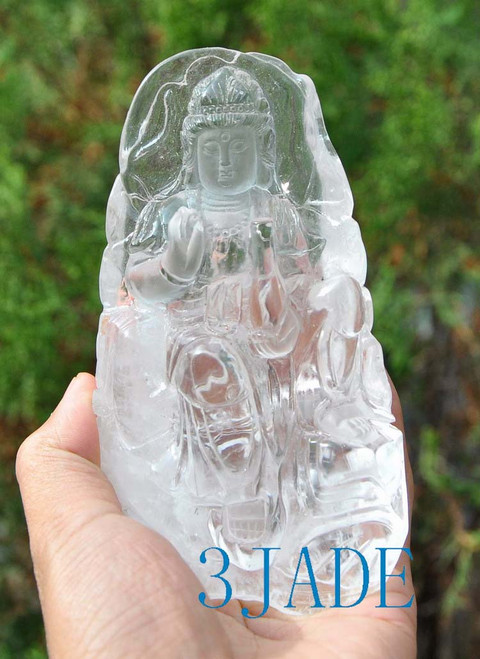 Quartz carving