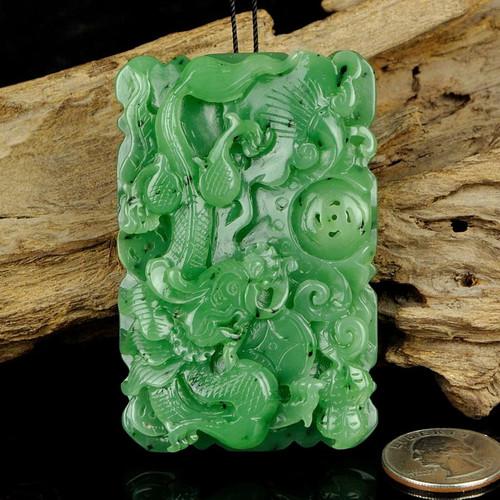 nephrite jade Dragon