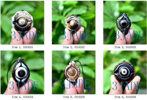 DZI Heaven Eye Beads