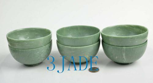 green stone bowl