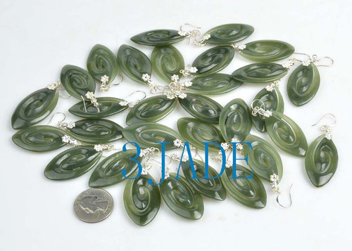Pounamu earrings