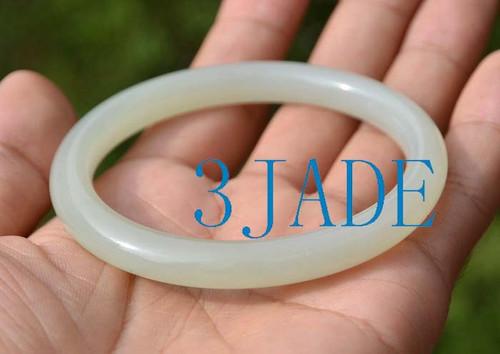 57-57.5mm Hetian jade bangle