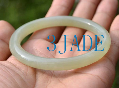 58-58.5mm Hetian jade bangle