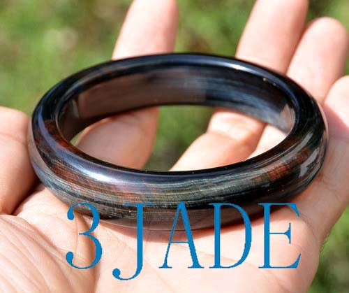 hand carved bangle