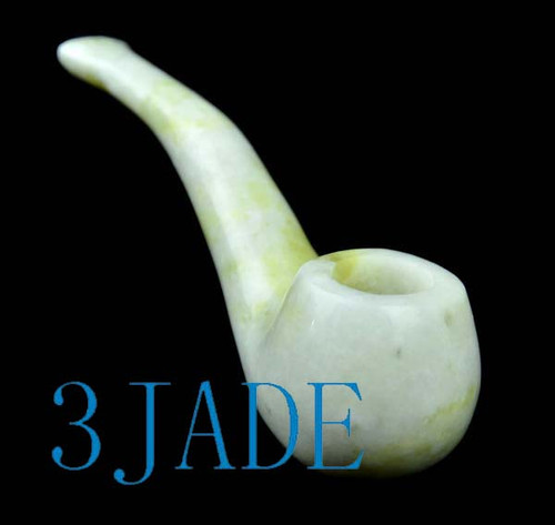 jade tobacco pipe
