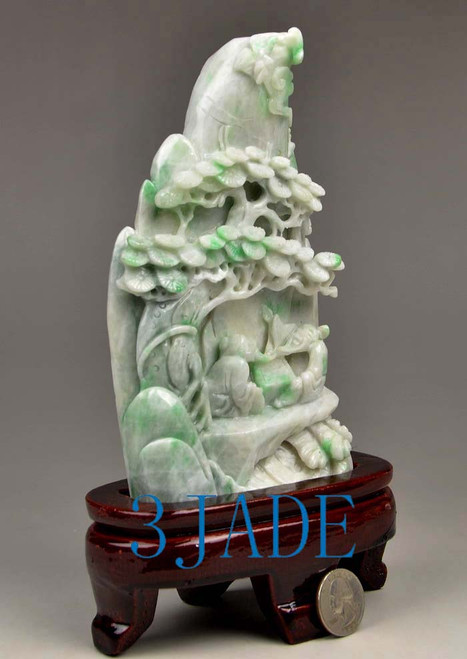 Burma jade carving