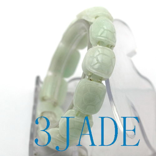 carved jadeite beads