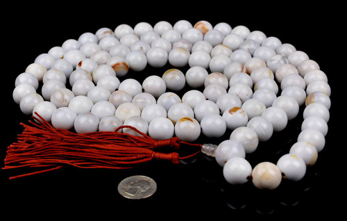 Petrified Wood Prayer Beads