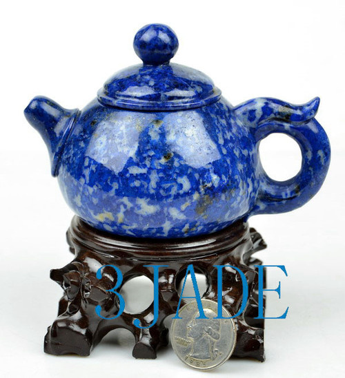 teapot carving
