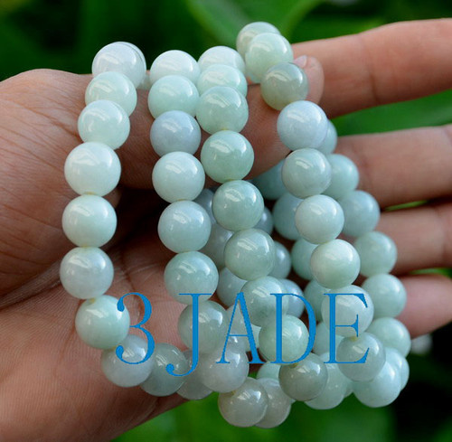 Jadeite Jade Beads Bracelet