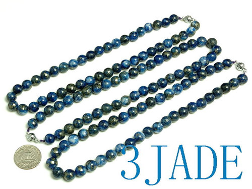 8mm beads necklace