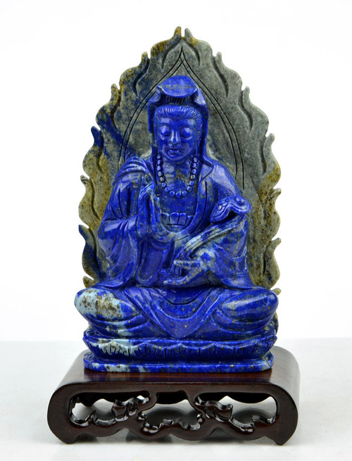 Lapis Lazuli Kwan Yin