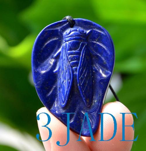 Lapis Lazuli cicada