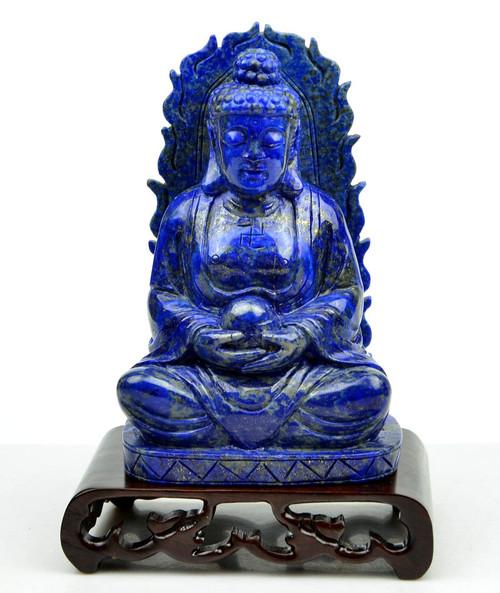 Lapis Lazuli Shakyamuni