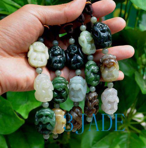 Jade Three Wise Monkeys