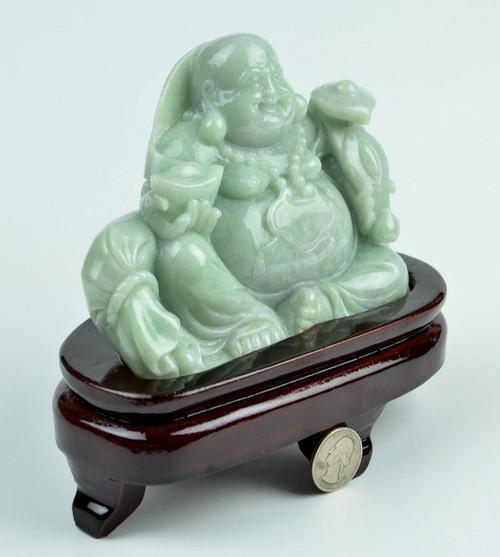 jade maitreya Buddha