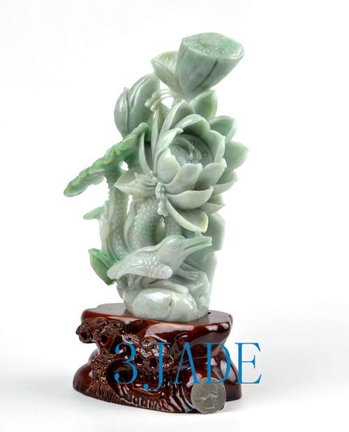 jadeite lotus