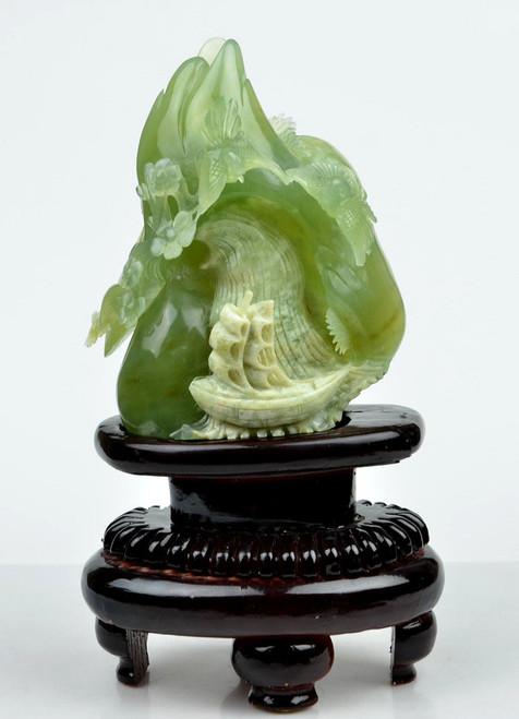 jade Chinese scenery statue