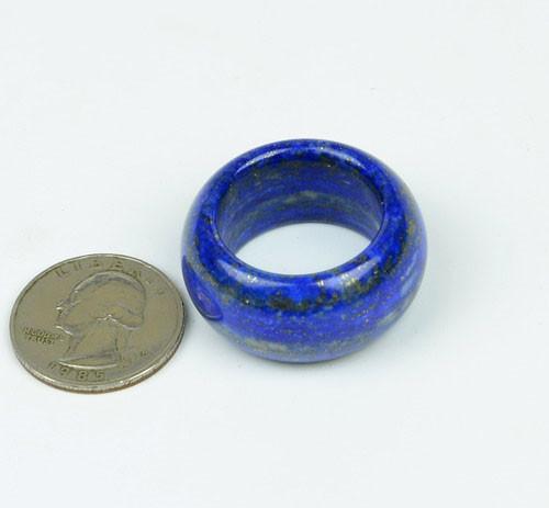Lapis Lazuli  Thumb Ring,  size 12