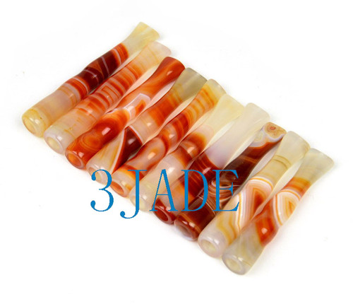 Striped Carnelian Cigarette Holder