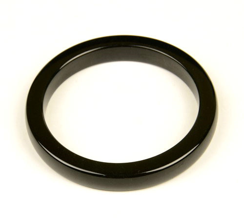 black nephrite jade bangle