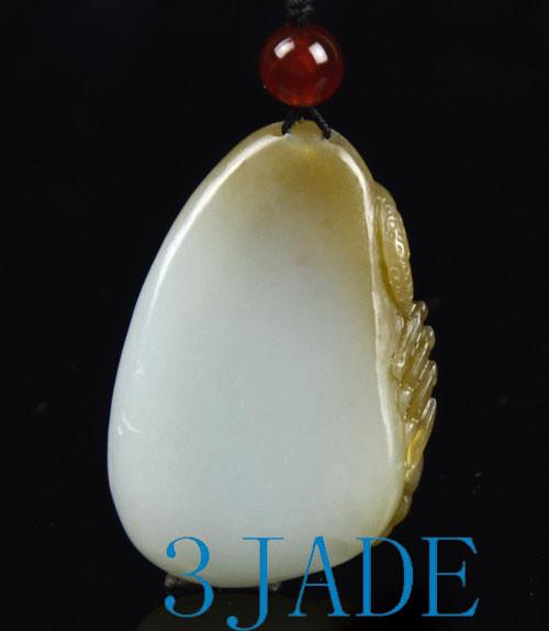 Hetian Brown White Jade