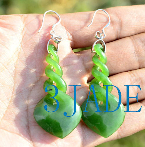 greenstone earrings
