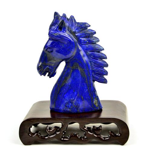 Lapis Lazuli Horse Statuette