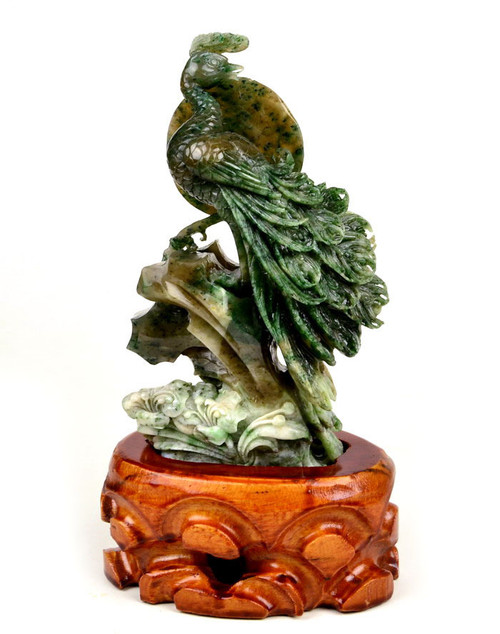 stone peacock