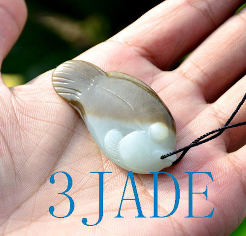 jade fish pendant
