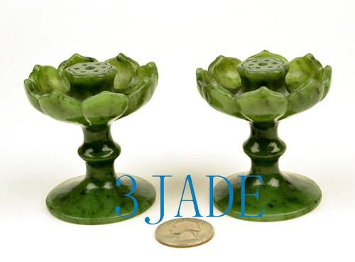 green jade incense burner