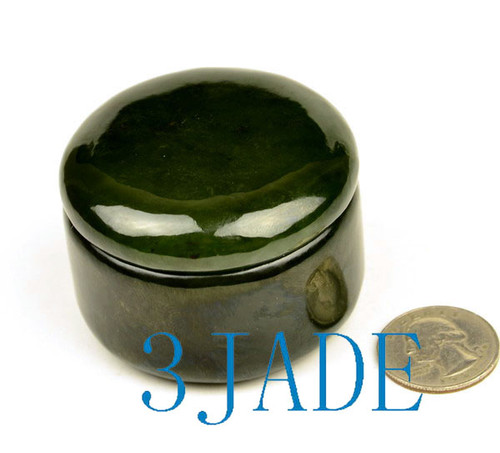 Jade Powder Box