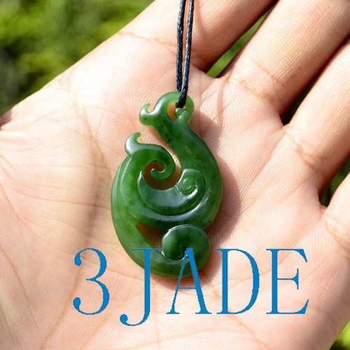 Green Jade Manaia