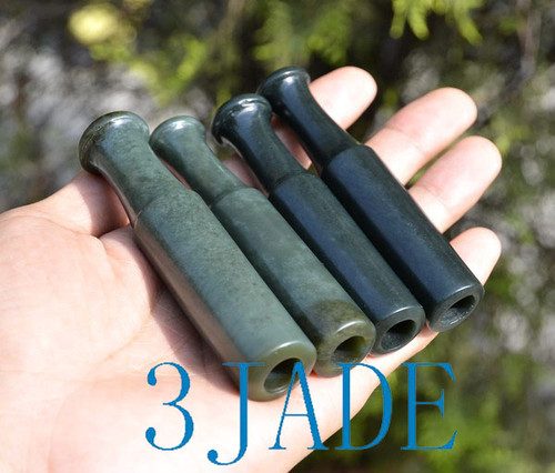 Jade Tobacco Pipe Mouthpiece