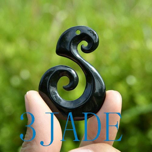 Black Jade Manaia Koru