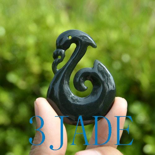 Nephrite Jade Manaia Koru