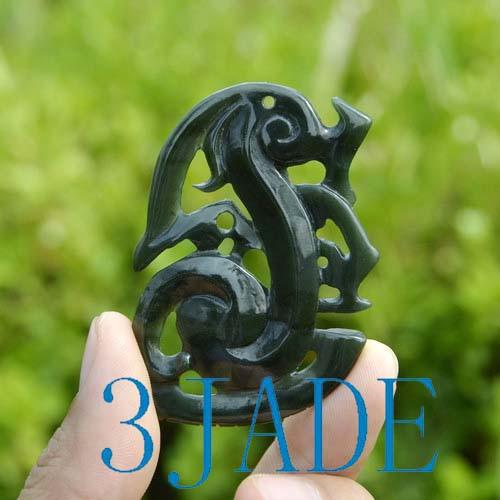 Jade Manaia Carving