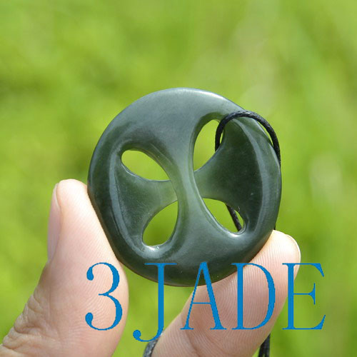 Jade Celtic Cross
