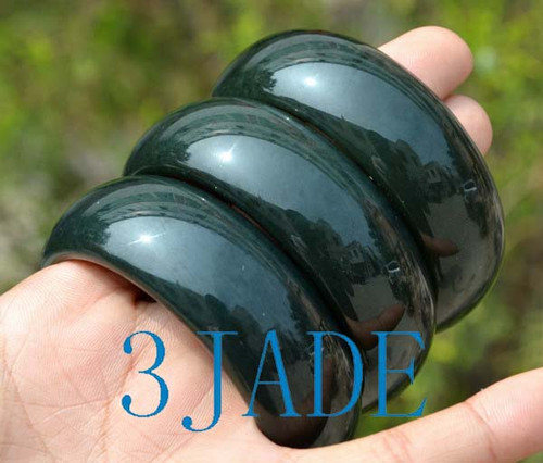 59mm green jade bangle