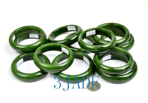 green nephrite jade bangle