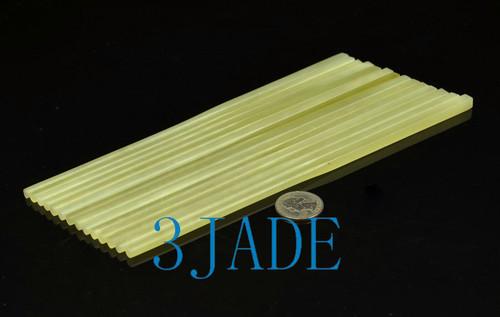 Chinese Xiu jade stone chopsticks