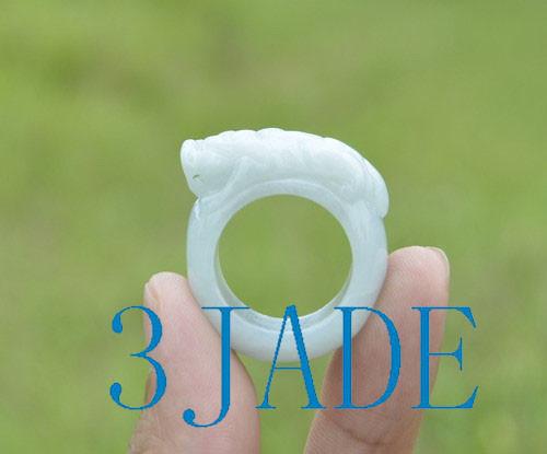 jade Pixiu ring