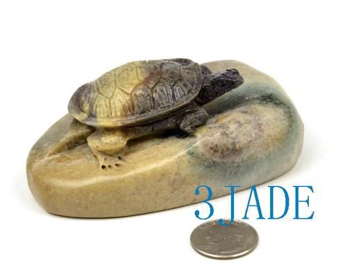 Shoushan stone turtle
