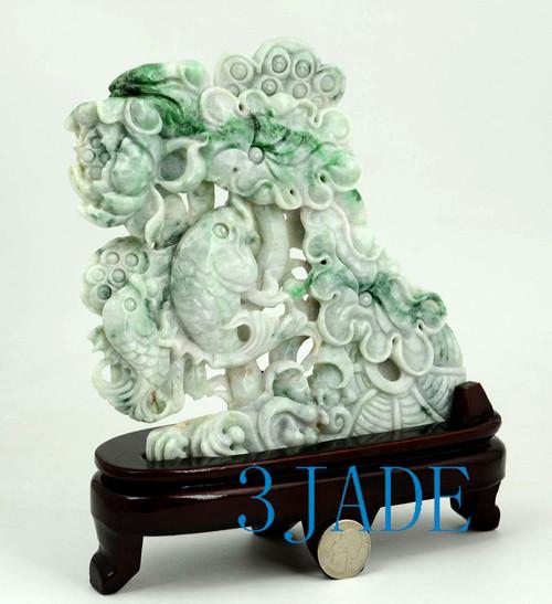 Jade Lotus Fish