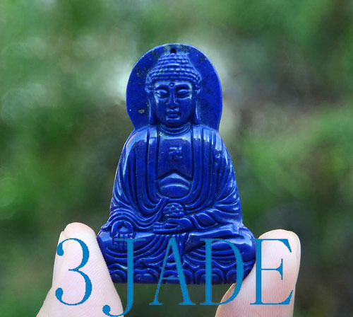 lapis lazuli Sakyamuni Pendant