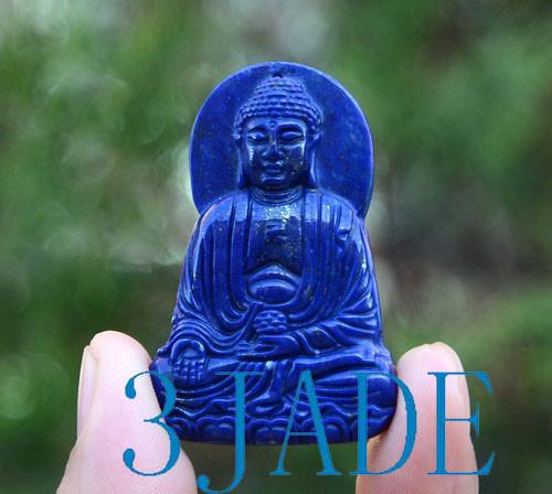 lapis lazuli Sakyamuni Necklace