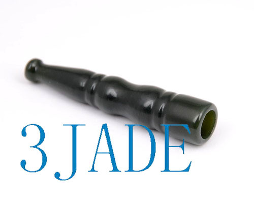 nephrite jade cigarette holder